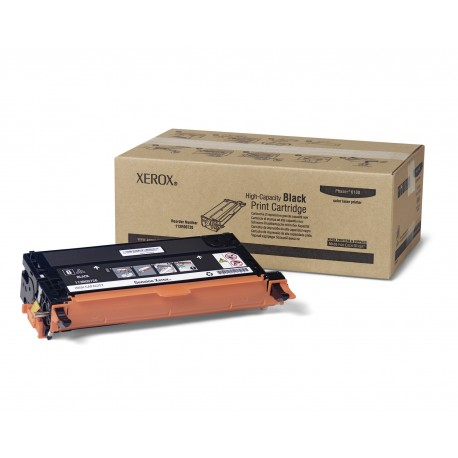 Xerox - Black High Capacity Print Cartridge Phaser 6180 Series
