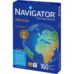 Navigator - OFFICE CARD A4 Color blanco papel para impresora de inyección de tinta