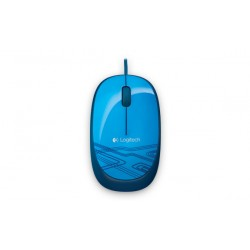 Logitech - M105 ratón USB tipo A Óptico Ambidextro - 910-003114