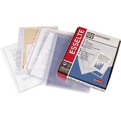 Esselte - ESD C.100 FUNDAS PP FOLIO ECONOMIC 46114