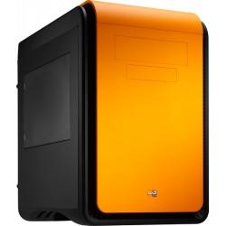 Aerocool - DS Cube Cubo Negro, Naranja