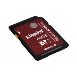 Kingston Technology - SDXC UHS-I U3 64GB 64GB SDXC UHS Clase 3 memoria flash
