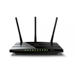 TP-LINK - Archer C5 router inalámbrico Doble banda (2,4 GHz / 5 GHz) Gigabit Ethernet