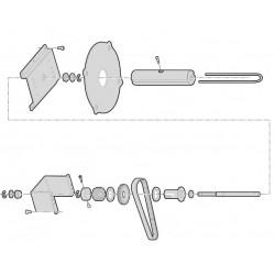 Intermec - 1-207084-800 pieza de repuesto de equipo de impresión Impresora de etiquetas