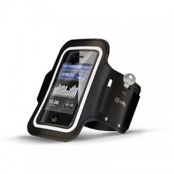 Celly - ARMBAND01 Brazalete caso Negro funda para teléfono móvil
