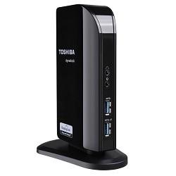 Toshiba - Dynadock V3.0+ USB 3.0 (3.1 Gen 1) Type-A Negro