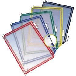 Tarifold - 114009 accesorio de soporte para mostrar documentos Montura Multicolor PVC