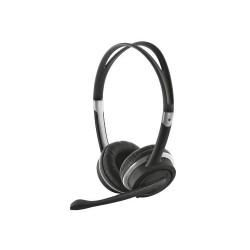 Trust - Mauro USB Binaurale Diadema auricular con micrófono