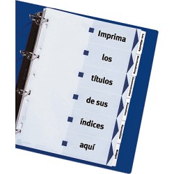 Avery - IndexMaker Dividers divisor Blanco