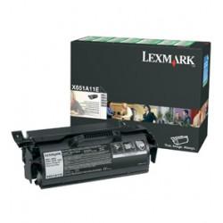 Lexmark - X65x Return Program Print Cartridge Negro