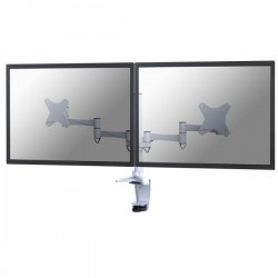 "Newstar - FPMA-D1330DWHITE soporte de mesa para pantalla plana 68,6 cm (27"") Blanco"