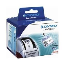 DYMO - Etiquetas para tarjetas de identificación de tamaño pequeño