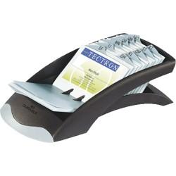 Durable - VISIFIX acollador de tarjeta Negro