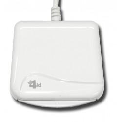Bit4id - miniLector EVO Interior USB 2.0 Blanco lector de tarjeta inteligente