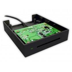 Bit4id - miniLector F Interior USB 2.0 Negro lector de tarjeta inteligente