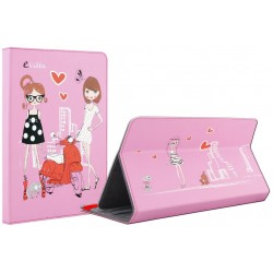 "e-Vitta - Fashion Girls 10.1"" Folio Rosa"