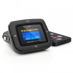 Energy Sistem - Car MP3 1100 transmisor FM 87,5 - 108 MHz Alámbrico Negro