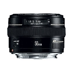 Canon - EF 50mm f/1.4 USM SLR Negro