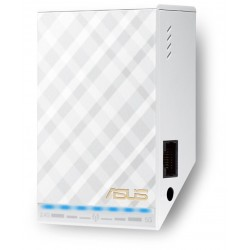 ASUS - RP-AC52 Network transmitter & receiver Color blanco