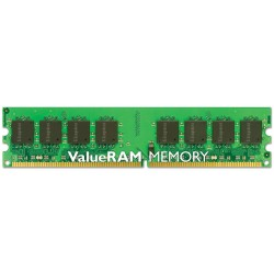Kingston Technology - ValueRAM 1GB 800MHz DDR2 Non-ECC CL6 DIMM 1GB DDR2 800MHz módulo de memoria