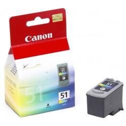 Canon - CL-51 Cian, Magenta, Amarillo cartucho de tinta