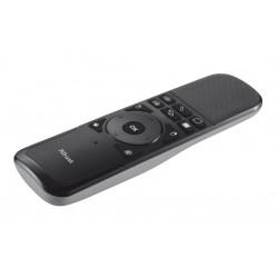 Trust - Wireless Touchpad Presenter apuntador inalámbricos IR Negro, Gris