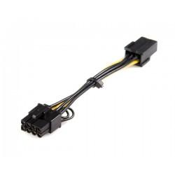 StarTech.com - Cable adaptador de alimentación PCI Express de 6 pines a 8 pines
