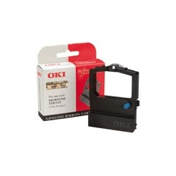 OKI - 09002315 cinta para impresora Negro