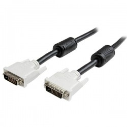 StarTech.com - Cable de 2m DVI-D de Enlace Simple - Macho a Macho
