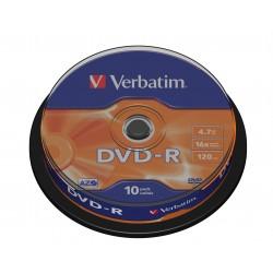 Verbatim - DVD-R Matt Silver 4,7 GB 10 pieza(s)