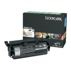 Lexmark - T650A11E Laser cartridge 7000páginas Negro tóner y cartucho láser