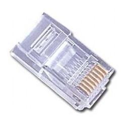 Gembird - PLUG3UP6/5 RJ-45 Transparente conector