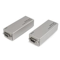 StarTech.com - Extensor de 1 Puerto Serie Serial RS232 DB9 por Cable Cat5 UTP Ethernet - Hasta 1000m