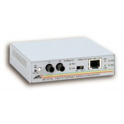 Allied Telesis - 100TX to 100FX (ST) Multi-Mode Media Converter 100Mbit/s convertidor de medio