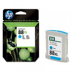 HP - Cartucho de tinta original 88XL de alta capacidad cian
