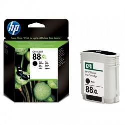 HP - Cartucho de tinta original 88XL de alta capacidad negro