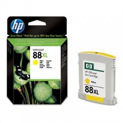 HP - Cartucho de tinta original 88XL de alta capacidad amarillo