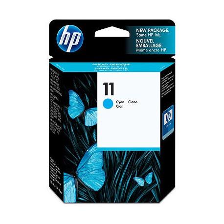 HP - 11 Cian cartucho de tinta