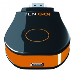 TenGO - GoCast Mirroring Negro, Naranja dongle Smart TV