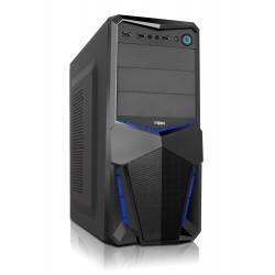 NOX - NXPAX carcasa de ordenador Midi-Tower Negro