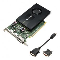 PNY - VCQK2200-PB Quadro K2200 4GB GDDR5 tarjeta gráfica