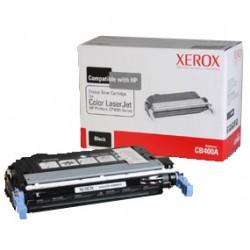 Xerox - Cartucho de tóner negro. Equivalente a HP CB400A. Compatible con HP Colour LaserJet CP4005