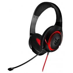 Creative Labs - SB Inferno Binaurale Diadema Negro, Rojo auricular con micrófono
