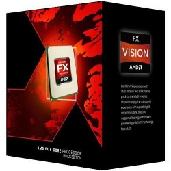 AMD - FX 8320E Black Edition 3.2GHz 8MB L3 Caja procesador