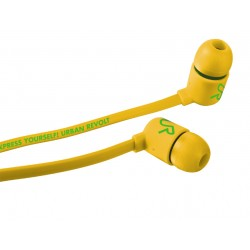 Trust - duga in-ear headphone Amarillo Intraaural Dentro de oído auricular