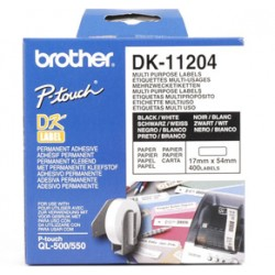 Brother - Etiquetas precortadas multipropósito (papel térmico)