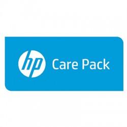 HP - Soporte de hardware , 4 años, respuesta al siguiente día laborable con desplazamiento, sólo para portátil