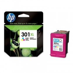HP - 301XL Tri-color Ink Cartridge Cian, Amarillo cartucho de tinta - 6419271