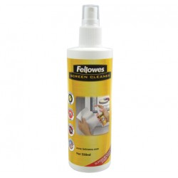 Fellowes - 250ml Screen Cleaning Spray LCD/TFT/Plasma Equipment cleansing air pressure cleaner