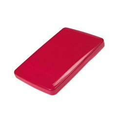 "Conceptronic - 2,5"" Harddisk Box Mini Red"